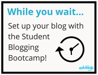 Blogging bootcamp
