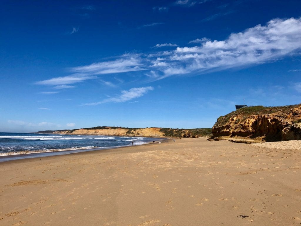 Photo of the beach near the Great Ocean Road STUBC