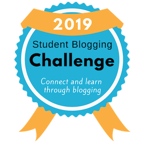 Student Blogging Challenge Badge Participants 2019