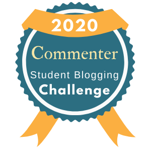 Student Blogging Challenge Commenter Badge 2020